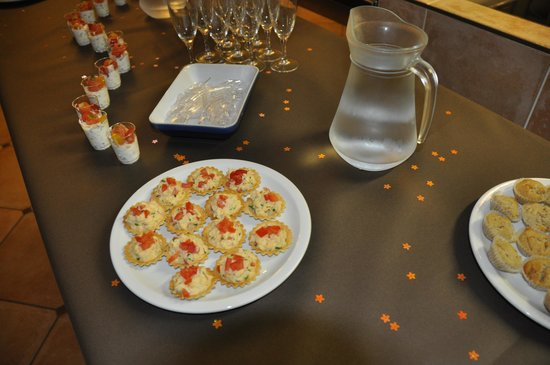 Ecole des Trois Ponts : Creations by the cooking students