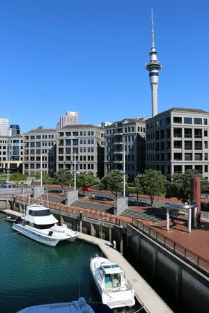 Sofitel Auckland Viaduct Harbour: The view