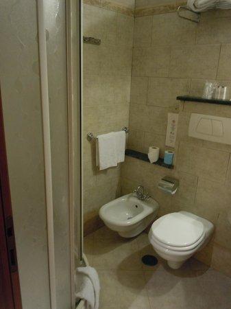 Hotel des Artistes: banheiro antigo mas funcional