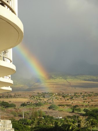 Westin Maui Resort And Spa: Mountain View Rainbow