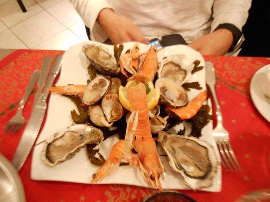 Burgerman : Assiette de fruits de mer