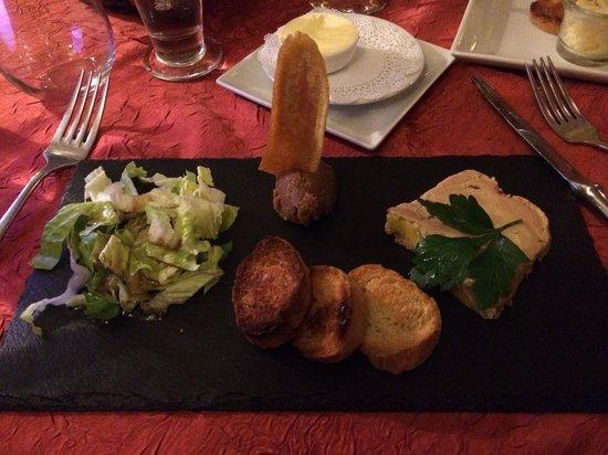 La Villa Restaurant : Foie terrine