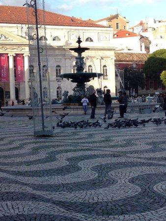 Rossio Square: Pavé