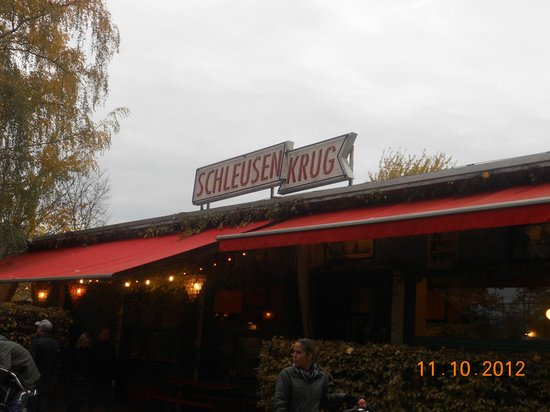Schleusenkrug: restaurant