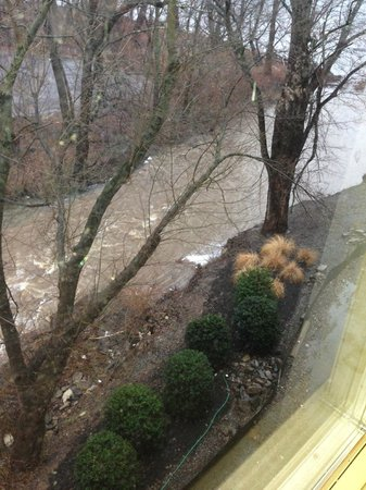 Lambertville Station Inn: View from our window