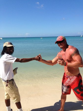 "Hotel Riu Montego Bay : Aaron with ""Sunshine"""