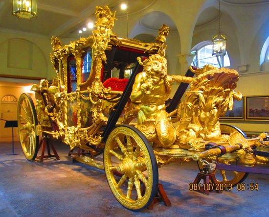 Royal Mews: QEII's coronation coach