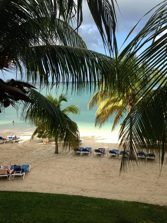 Hotel Riu Montego Bay : View from our balcony.