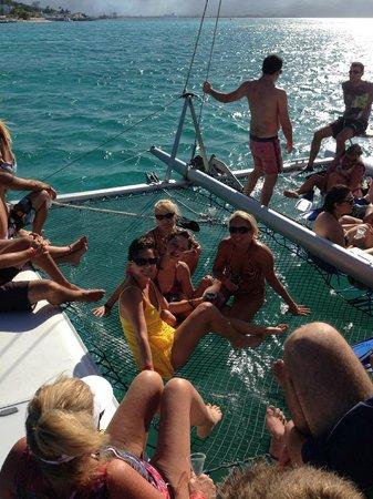 Hotel Riu Montego Bay : Catamaran trip!!!!