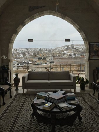 Doors Of Cappadocia Hotel: View from Lobby