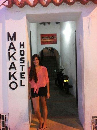 Makako Chill Out Hostel : Aqui saliendo del hostel