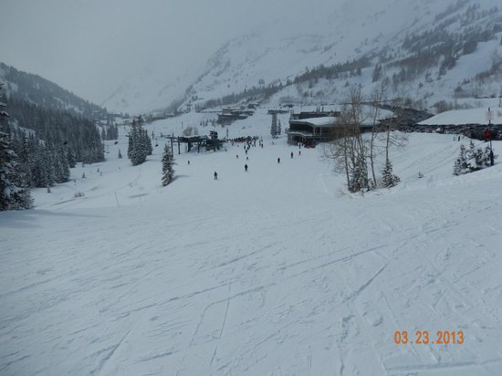 Alta's Rustler Lodge: Lots of snow...