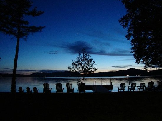 Stiefvater's Lakeside Cottages: Beautiful Sunsets