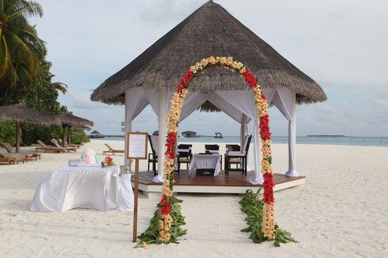 The Sun Siyam Iru Fushi Maldives : Свадебная церемония готова
