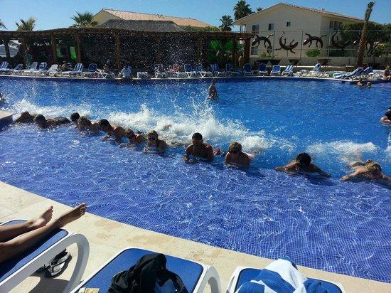 Royal Decameron Los Cabos: H20 workout