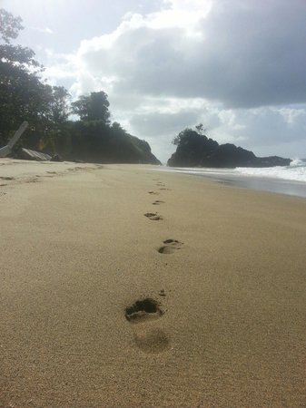 Turtle Beach by Rex Resorts: A walk rowards black rock