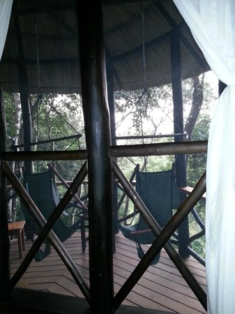 Table Rock Jungle Lodge: Private Balcony