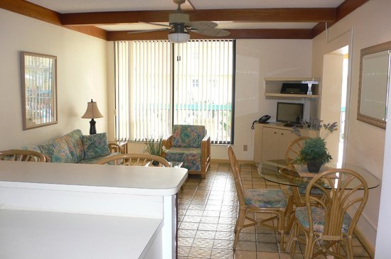 The Merriweather Resort: Voici notre salon