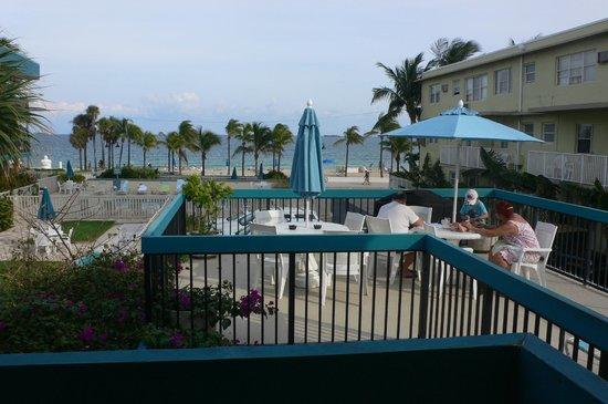 The Merriweather Resort: Vue du balcon