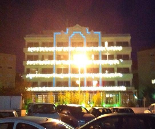 Hotel Ocean Drive Ibiza : Beleuchtung Dez 2013