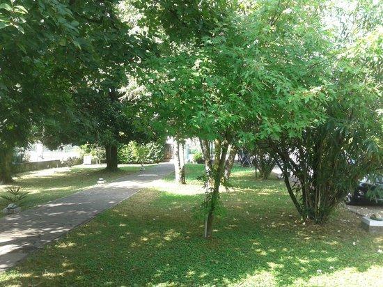 Villa Pace: giardino