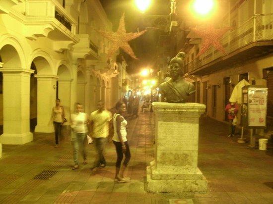 Mercure Comercial Santo Domingo: Fussgängerzone