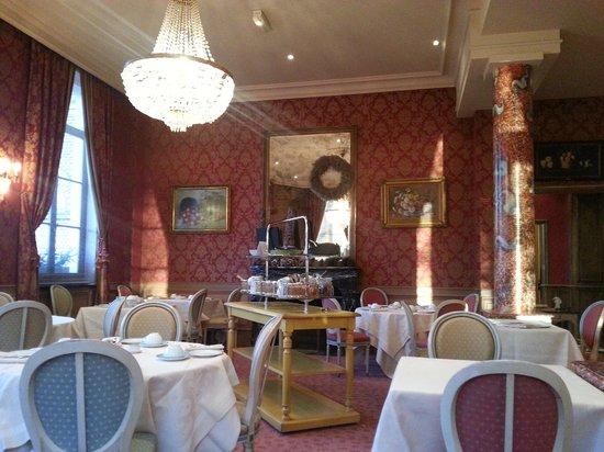 La Chartreuse du Val Saint Esprit : The breakfast room