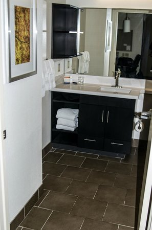 Candlewood Suites - Pittsburgh Airport: Bathroom view from Room