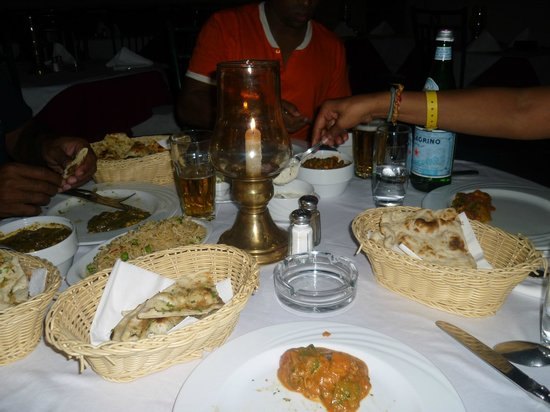 Tandoori: Meal Portions