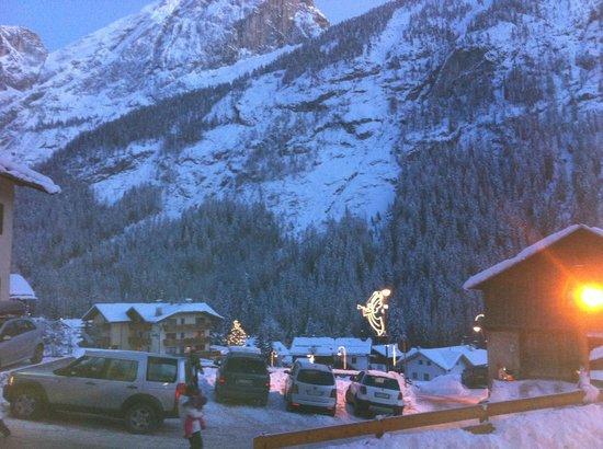 Dolomites Inn: Veduta dalla stanza