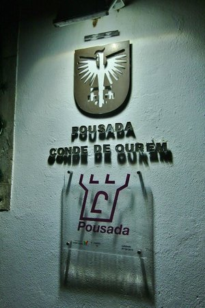 Pousada de Ourem - Fatima Historic Hotel: Hotel enterance