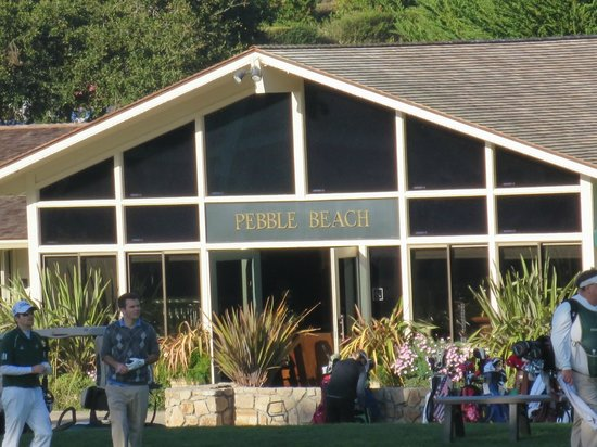 The Lodge at Pebble Beach : View from balcony