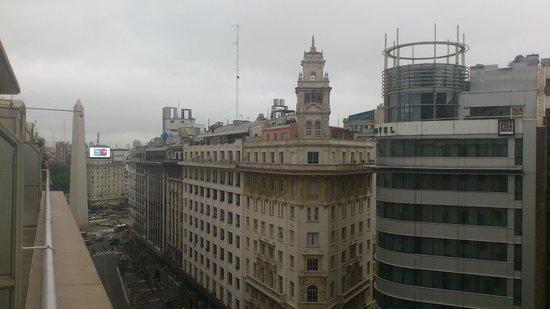 HR Luxor Buenos Aires: Vista desde habitacion del piso 9