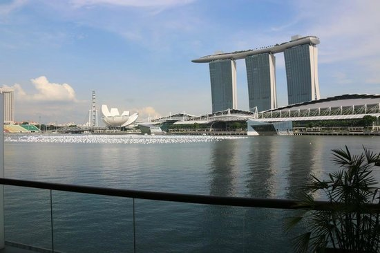 The Fullerton Bay Hotel Singapore : The view