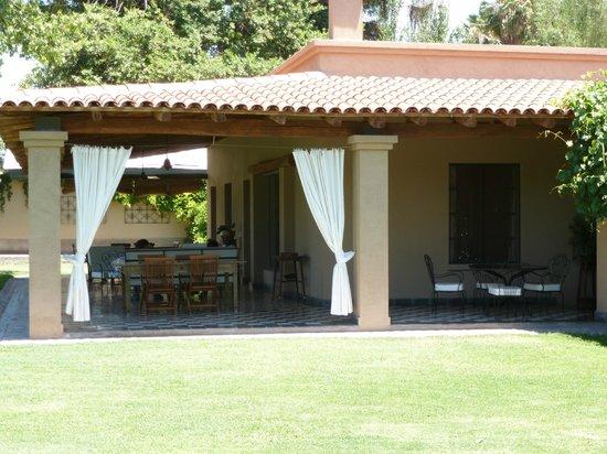 Posada Verde Oliva: veranda