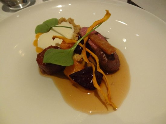 The Five Fields: yorkshire lamb