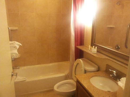 TownePlace Suites Houston North/Shenandoah: Bathroom
