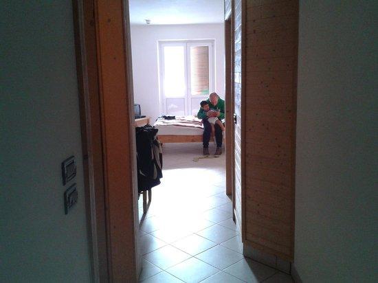 Hotel Residence Bellavista : vista dall'ingresso