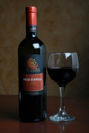 Alongi's Italian Restaurant : House wine