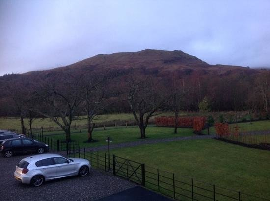 Loch Lomond Arms Hotel : veiw from our bedroom