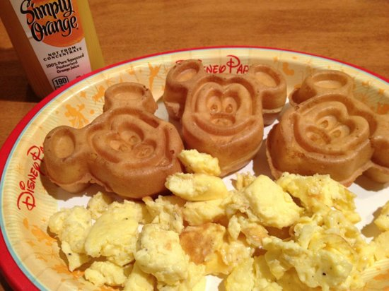 Disney's Wilderness Lodge : Breakfast at Roaring Forks
