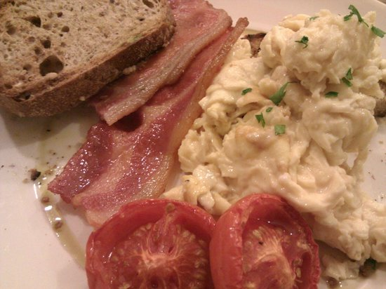 Daisy Green of Portman Village : Eggs and bacon