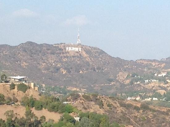 Hollywood Celebrity Hotel: Runyon Canyon view
