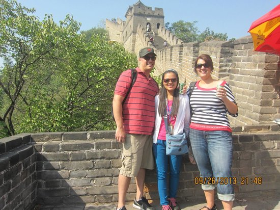 Beijing Private One-day Tour Guide AnnieLi: With Annie on the Great Wall!