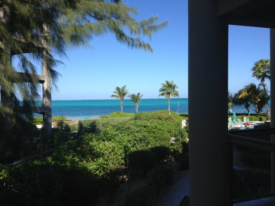 Coral Gardens on Grace Bay: partial ocean view from room