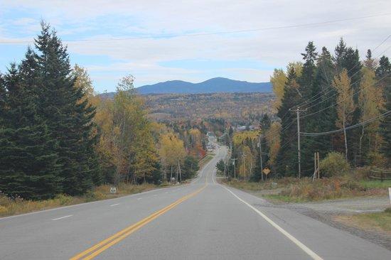 Mooselookmeguntic Lake - Open Road