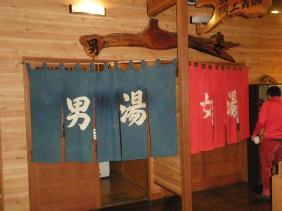 Hishino Onsen Tokiwakan: 浴場入口
