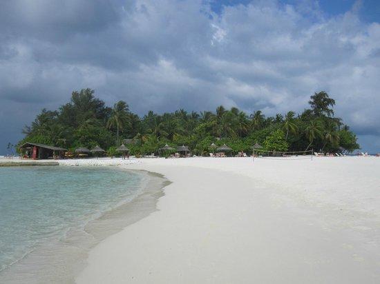 VOI Maayafushi Resort: lingua di sabbia