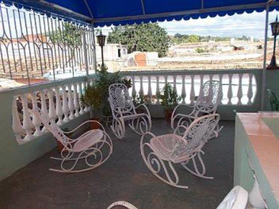 Casa de Rosita: terraza