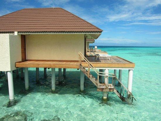 VOI Maayafushi Resort: overwater